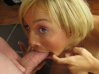 Morgan Layne begging to suck some cock