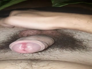 Hard Self Ballbusting And Masturbation