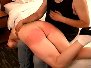 Schoolgirl Gets Her Ass Spanked For Being A Slut