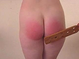 Schoolgirl Gets Paddled For Flashing In Class