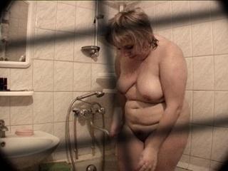 Chubby Talli Taking A Bath