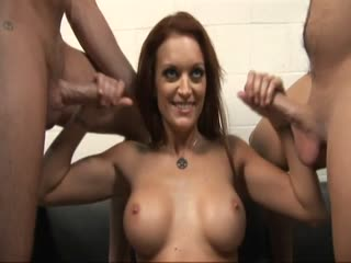 Stroking Two Dicks At The Same Time