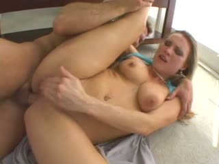 Slutty MILF gets throated and assfucked
