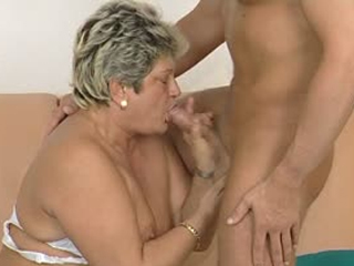 Chubby Mature Cocksucker