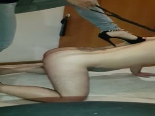 Hard Trample And Kick Ballbusting