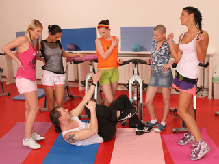 CFNM Sex At Fitness Class