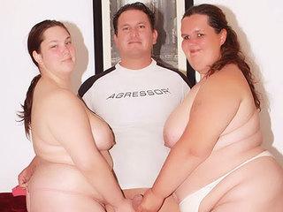 Hot BBWs Sharing A Cock