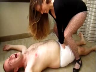 Samantha Loves Trampling Balls