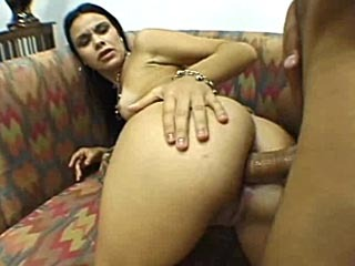 Sexy Latina Jumps On A Stiff Cock