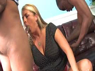 Joclyn Stone In Interracial Threesome