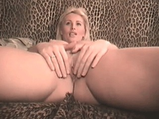 A Sexy Blonde's Audition Tape