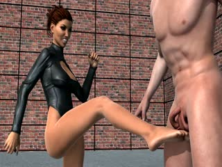 Ballbusting Digital Renders