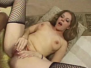 Blonde Slut Takes A Big Fat Cock Up Her Ass