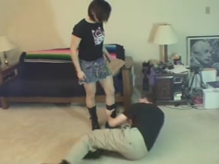 Ballbusting Thief With Gia Primo