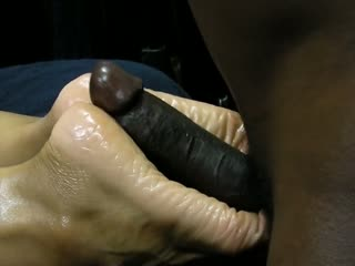 Wonderful MILF Got Her Sexy Feet Oiled Up And Fucked By A Black Dude