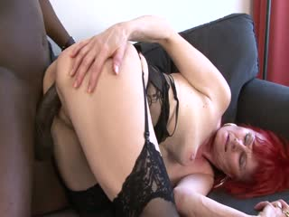 Horny Mature Gets A BBC
