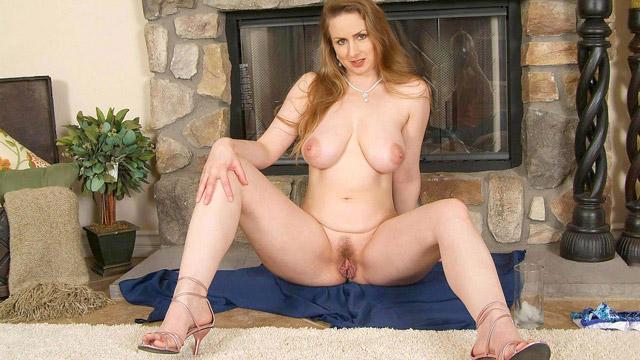 Nude babe flight attendant