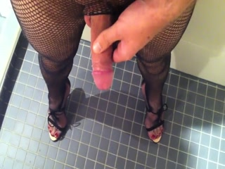 Peeing And Cock Tease