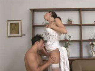 Smashing Looking Shemale Bride In Heat Ready To Explore Her Husband's Butt