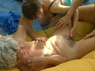 Lesbian Grannies Kissing And Fingering Each Other