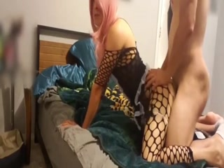 My Horny Lover Fucks Me Like A Real Bitch And Cums Inside My Tight Butt