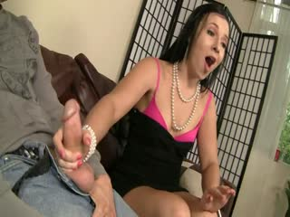 Cock in interracial pussy