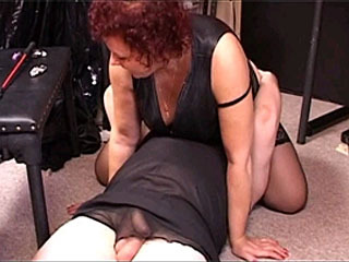 Check Out A Mistress Sitting On Her Pet Slave's Face