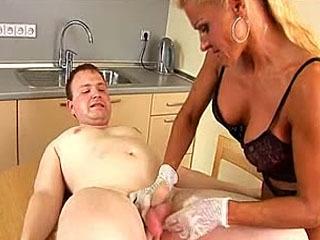 Mature Mistress Puts Her Slave Through Sheer Hell Of CBT Bruising His Balls