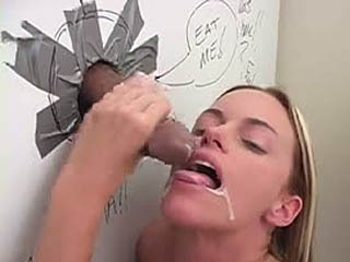 Nikki Sucks A Horny Cock