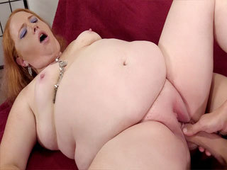 Small Boobed BBW Scarlet Raven Shows Off And Takes Cock