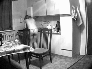 Spy Cam In The Kitchen