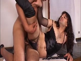 Sissy Bitch Enjoying In The Anal Drilling