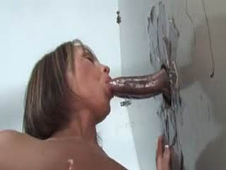 Nikki Anne Working The Gloryhole