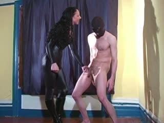 Wow! Mistress Trish Destroys Slave