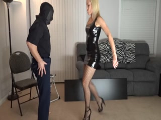 Ball busting blonde