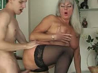 Milf Going For A Young Boy Aching For Hard Thrusts Of A Cock Into Her Pussy