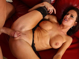 A Hot Brunette Needs Some Cock