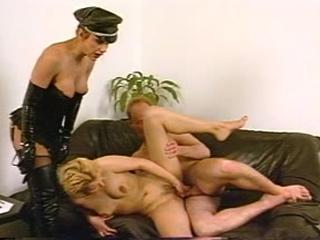Hot Mistress Training Her Sex Slaves