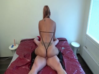 Couple Having Dirty BDSM Sex