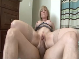 Filthy Horny MILF Needs A Hard Cock Plowing Her Wet Cunt