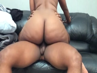 Bubble Butt Bouncing On A BBC