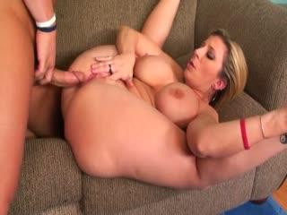 Busty MILF Sara Jay loves hard cock