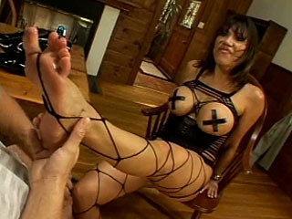 Gorgeous Asian Woman Gets Her Feet Worshiped