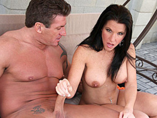 Brunette Kendra Secrets Jerks A Big Rod