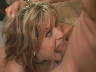 Horny blonde will do anything to get assfucked