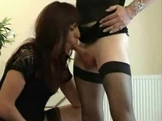 2 Uk Amateur Transvestite Have Fun