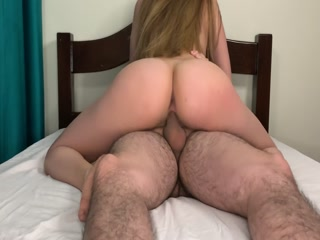 Horny Sister Riding Step Brother Cock