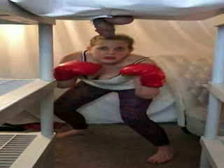 Kick Boxing Her Junk
