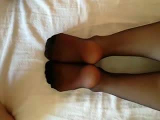 Friend Cum On My Soles After Footjob