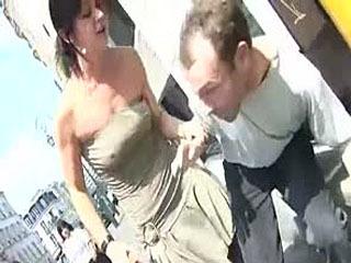 2 French Girls Ballbust A Guy For Money